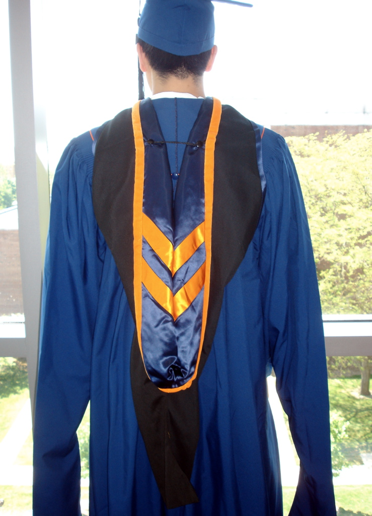 Additional fancy stuff for Master's graduates