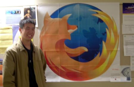 Firefox poster in Siebel