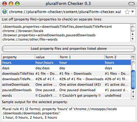 pluralForm Checker v0.3