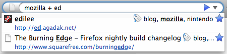 "Search ""mozilla + ed\"""
