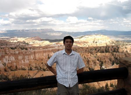 Ed at Bryce Canyon