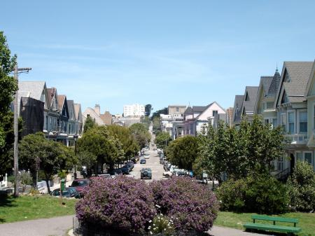 View from Duboce Park