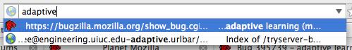 Firefox 3 Smart Bar