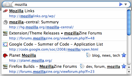 "Search ""mozilla\"""